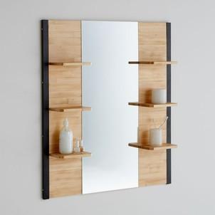 Meuble haut salle de bain bois clair - Boutique-gain-de-place.fr