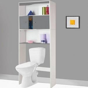 Meuble dessus wc monsieur bricolage