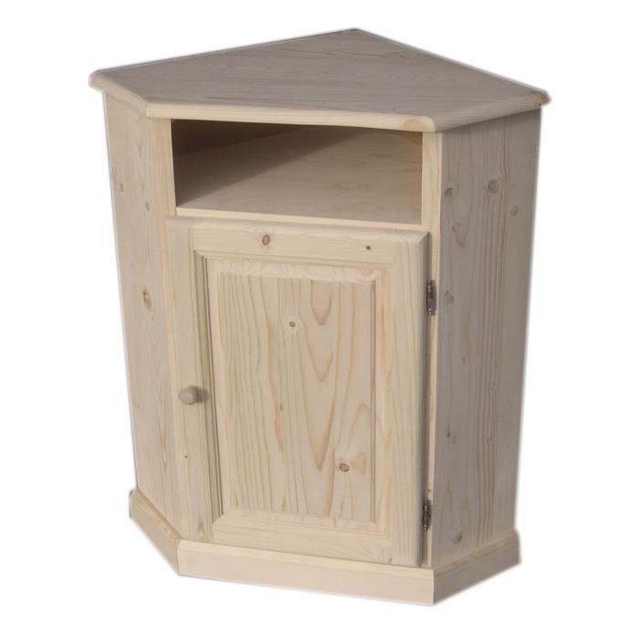 meuble d 39 angle salon bois boutique gain de. Black Bedroom Furniture Sets. Home Design Ideas