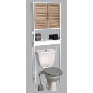 Meuble étagère dessus wc ikea