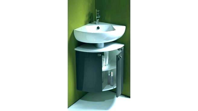 Lavabo d\'angle avec meuble ikea - Boutique-gain-de-place.fr