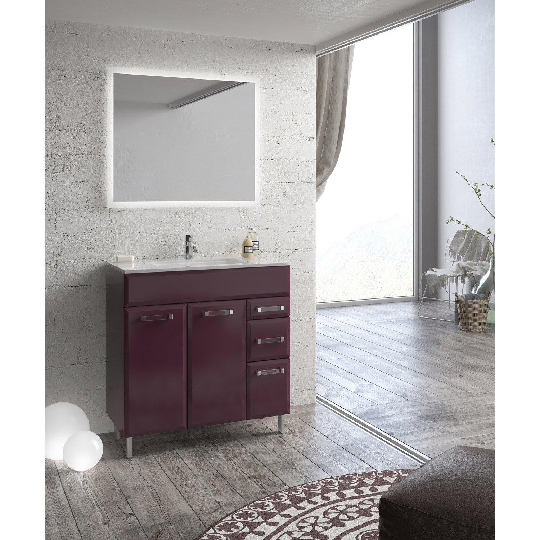 Meuble Haut Miroir Salle De Bain Leroy Merlin