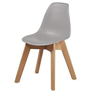 chaise scandinave grise amazon. Black Bedroom Furniture Sets. Home Design Ideas