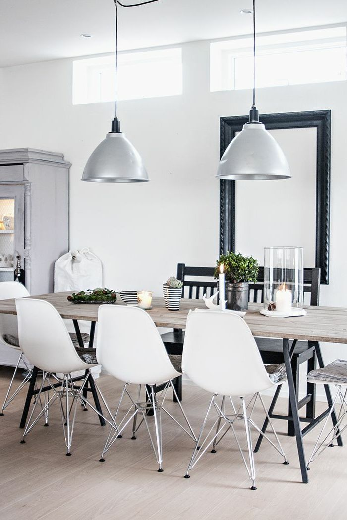 Table scandinave contemporaine