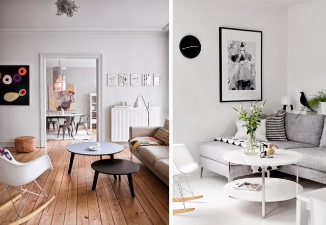 deco salon blanc scandinave boutique gain de. Black Bedroom Furniture Sets. Home Design Ideas
