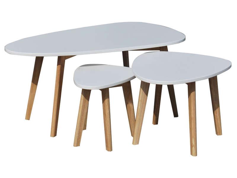 Table d\'appoint scandinave conforama - Boutique-gain-de-place.fr