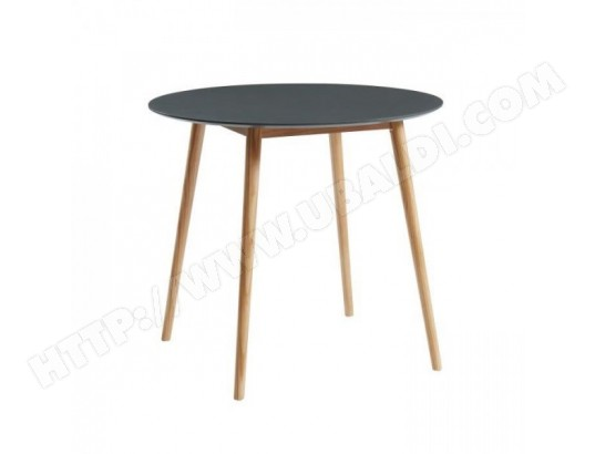 Table ronde scandinave 2 personnes