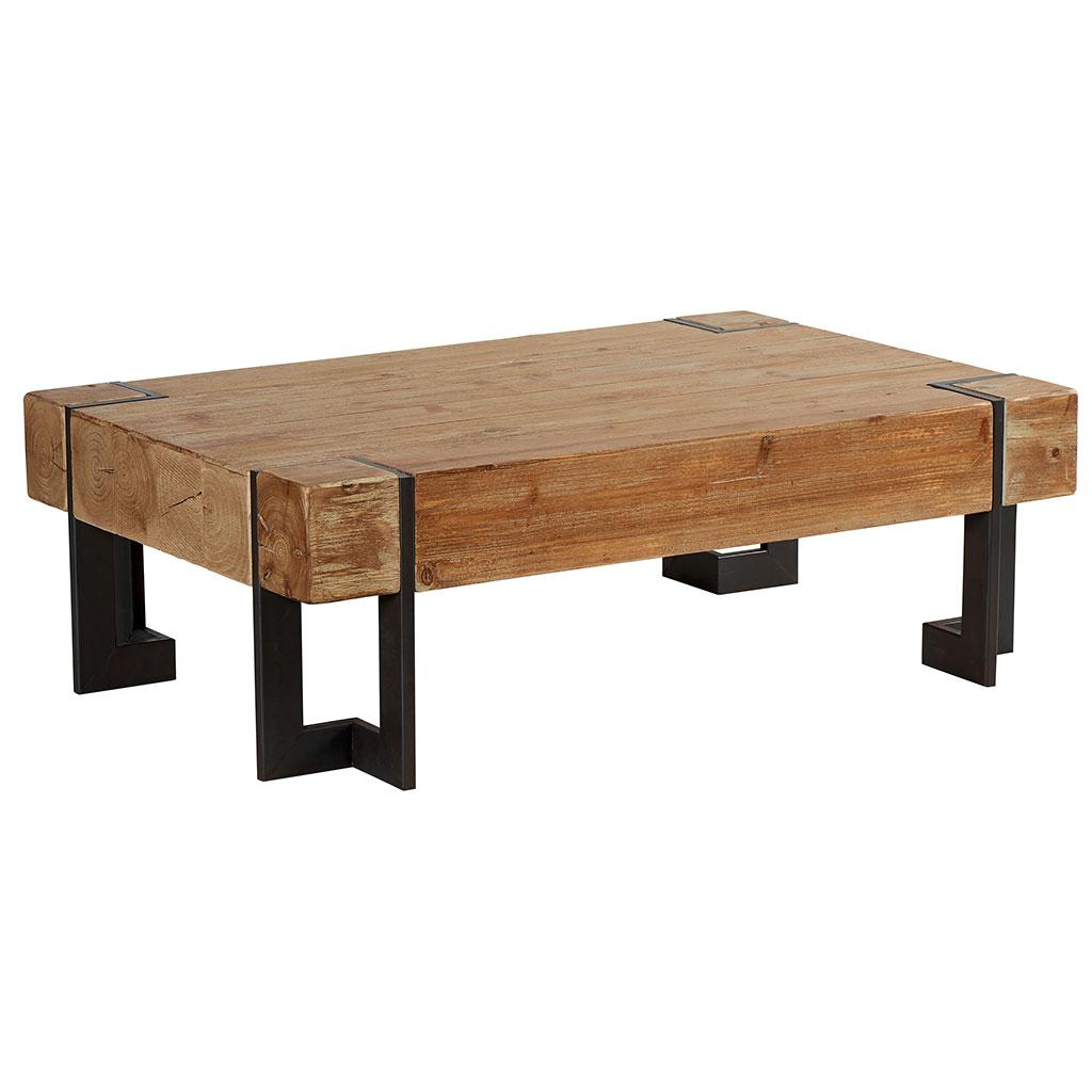 table bois scandinave industriel boutique gain de. Black Bedroom Furniture Sets. Home Design Ideas
