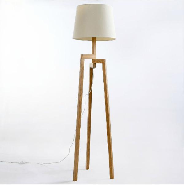 lampe de salon sur pied scandinave boutique gain de. Black Bedroom Furniture Sets. Home Design Ideas