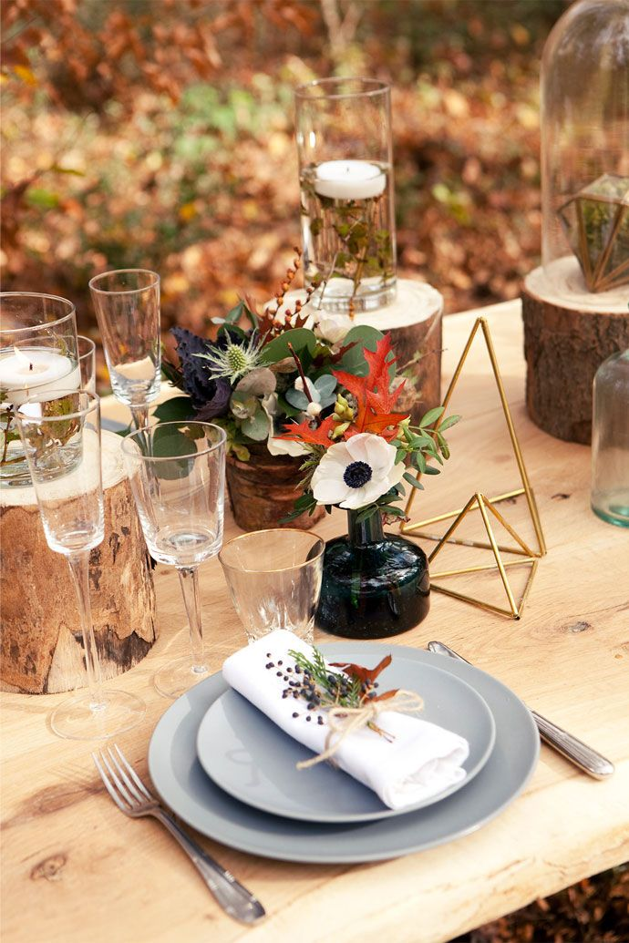 Table mariage scandinave