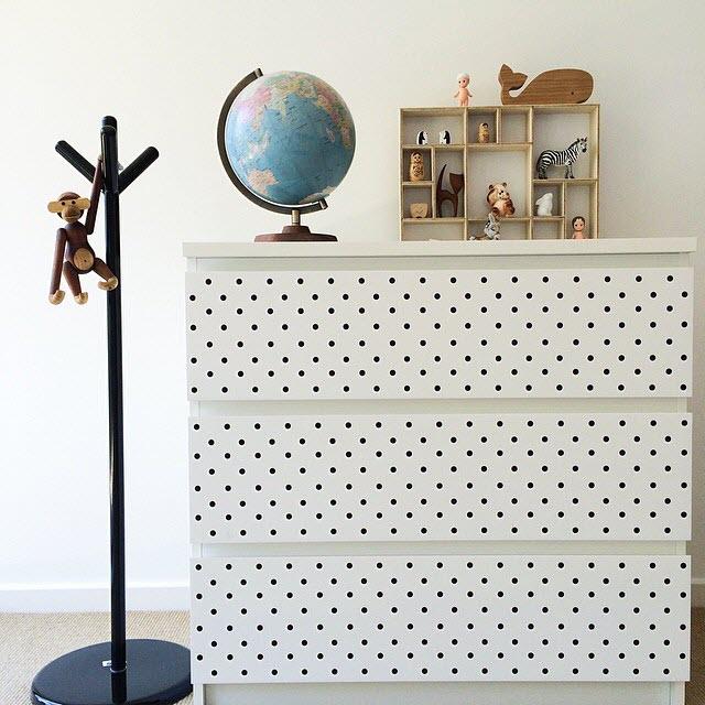 Stickers scandinave pour meuble boutique gain de - Stickers pour meuble ...