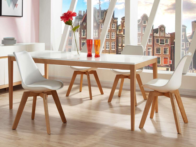 Ensemble Table Et Chaise Scandinave Boutique Gain De Place Fr
