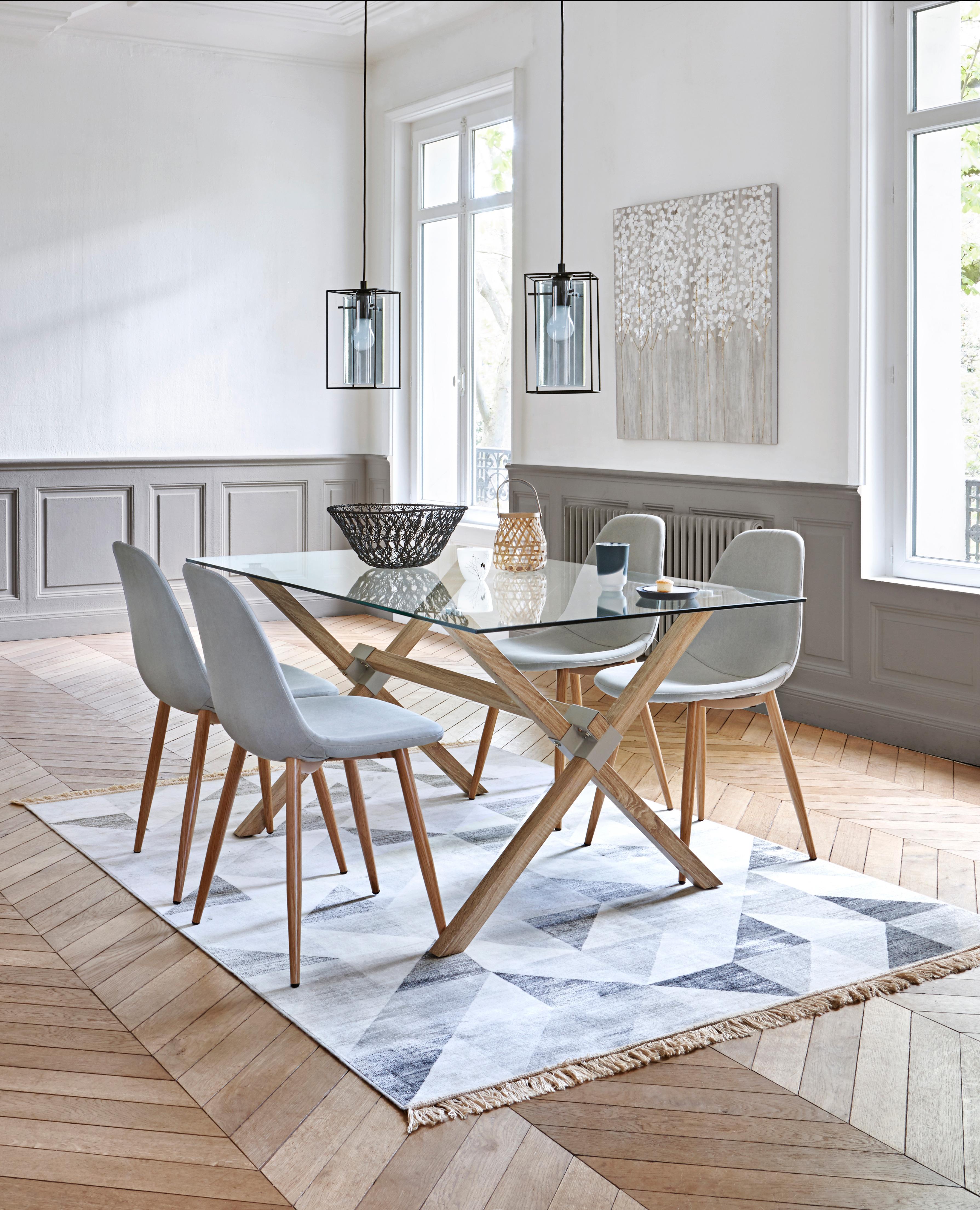 Table Et Chaise Salle A Manger Scandinave Boutique Gain De Place Fr