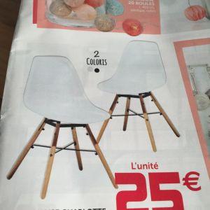 table et chaise scandinave gifi boutique gain de. Black Bedroom Furniture Sets. Home Design Ideas