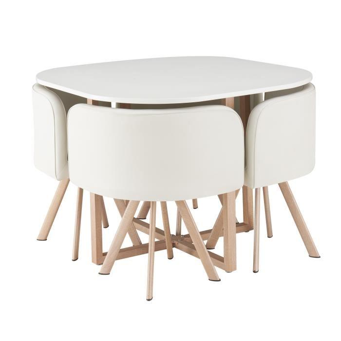 Table 4 Chaises Scandinave Boutique Gain De Place Fr