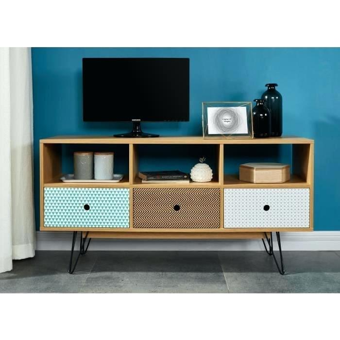 Meuble Tv Haut Scandinave Boutique Gain De Place Fr