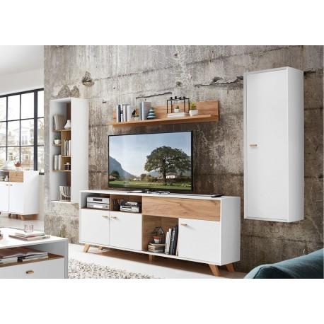 Meuble tele style scandinave boutique gain de - Meuble tv gain de place ...