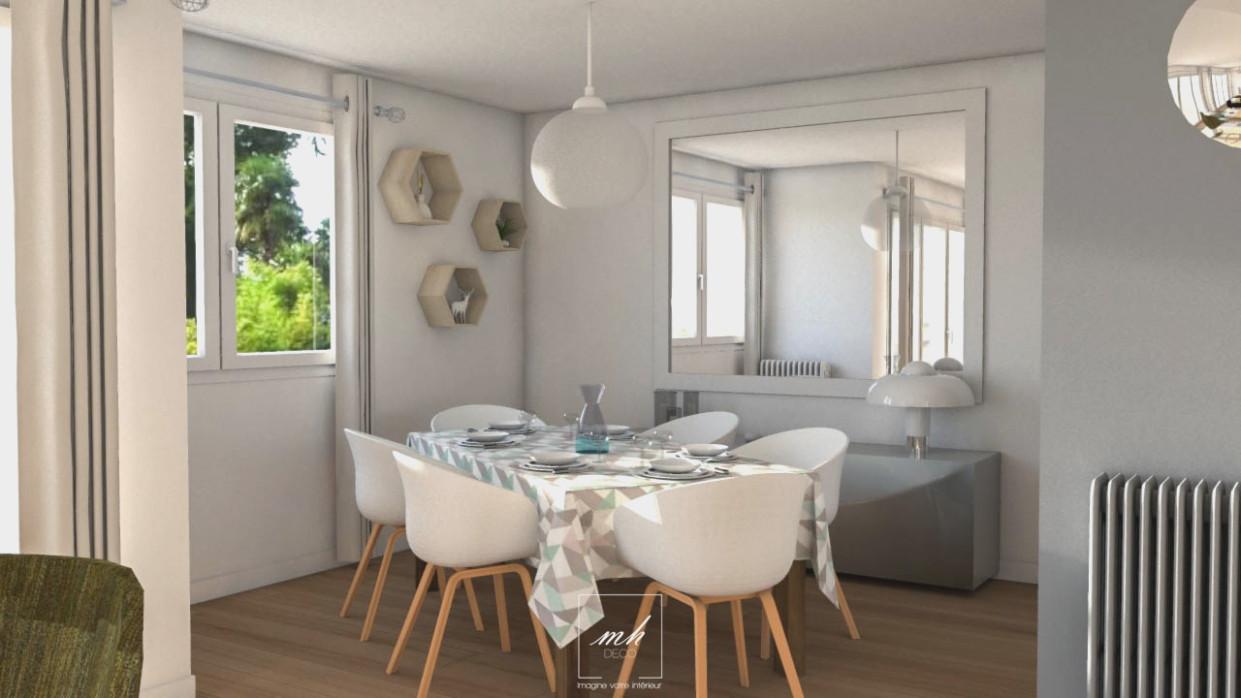 meuble salle manger style scandinave boutique gain de. Black Bedroom Furniture Sets. Home Design Ideas