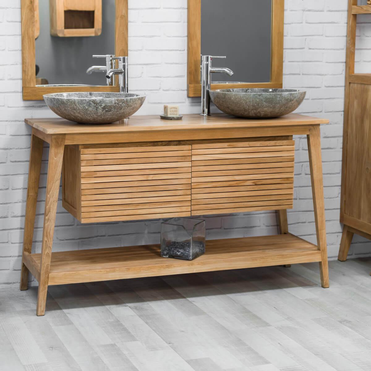 Meuble salle de bain style scandinave - Boutique-gain-de-place.fr