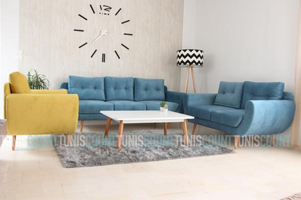 Salon moderne scandinave - Boutique-gain-de-place.fr