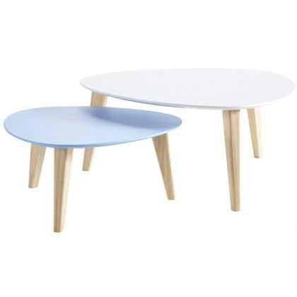 Table scandinave potiron