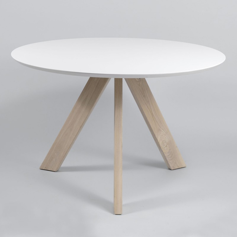 Table Ronde Scandinave Pas Chere Boutique Gain De Place Fr