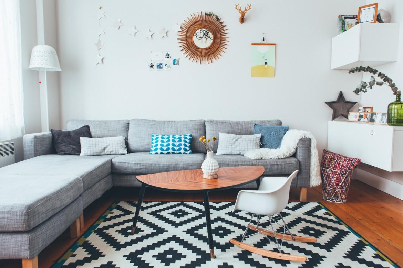 Tapis Salon Scandinave Ikea Boutique Gain De Place Fr