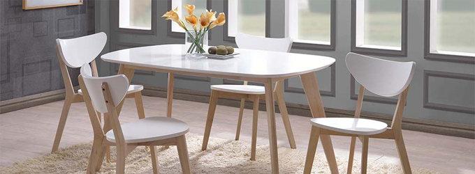 Table scandinave extensible solde