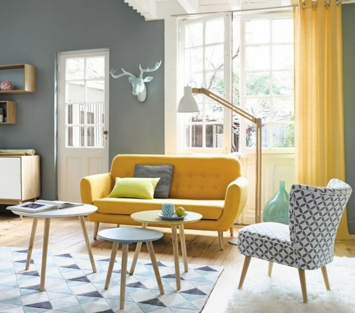 idee deco rideau scandinave boutique gain de. Black Bedroom Furniture Sets. Home Design Ideas
