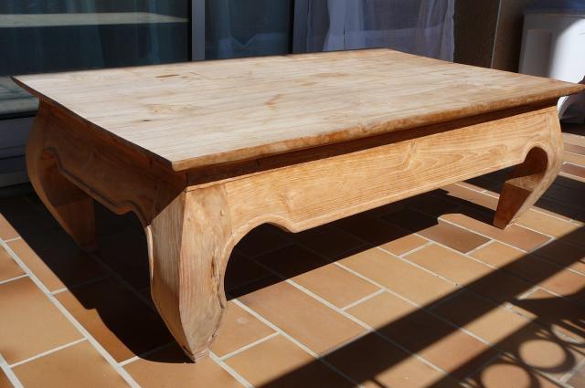 Table basse en bois occasion