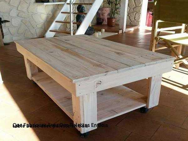 Une Table Basse Avec Palette Boutique Gain De Place Fr