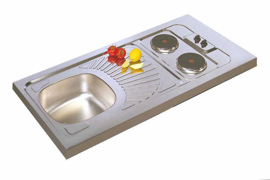 Evier kitchenette plaque electrique