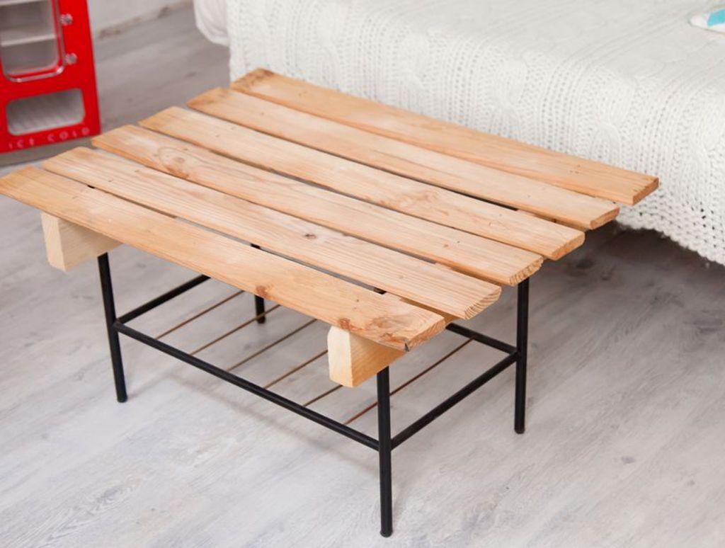Tuto table basse palette avec ouverture - Boutique-gain-de-place.fr