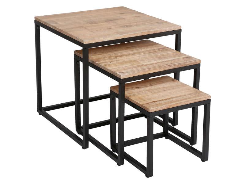 Conforama table basse en bois - Boutique-gain-de-place.fr