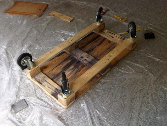 Roulettes Pour Table Basse Palette