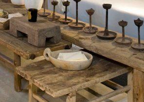 table basse bois blanc metal boutique gain de. Black Bedroom Furniture Sets. Home Design Ideas