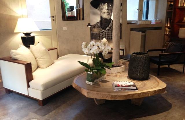 Table Basse Bois Tronc Arbre Boutique Gain De Place Fr