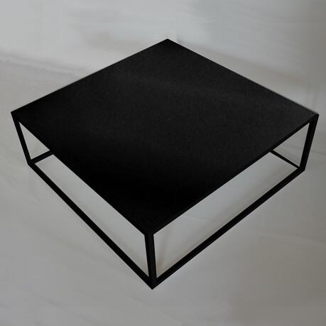 Table Basse Carree Noire.Table Basse Carree Noir Boutique Gain De Place Fr