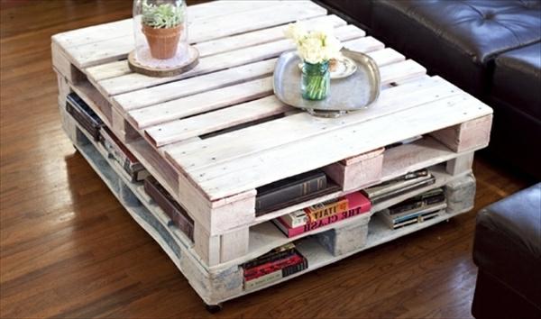 Table Basse En Palette En Bois