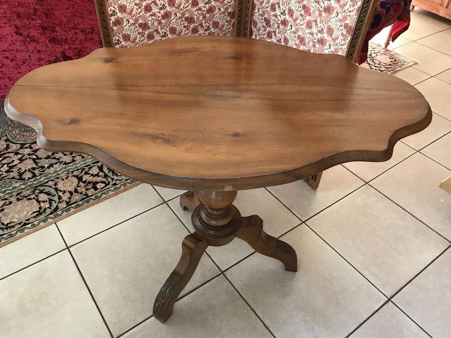 plus récent 6b2bd fa533 Table basse ronde bois massif occasion - Boutique-gain-de ...