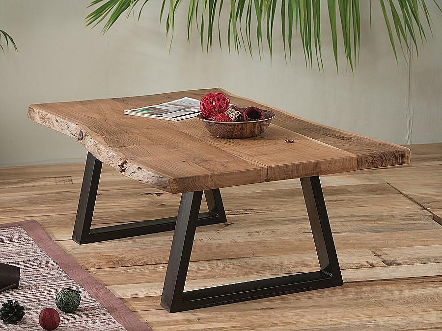 Table Basse Bois Brut Boutique Gain De Placefr