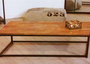 table basse palette avec plateau relevable boutique gain de. Black Bedroom Furniture Sets. Home Design Ideas