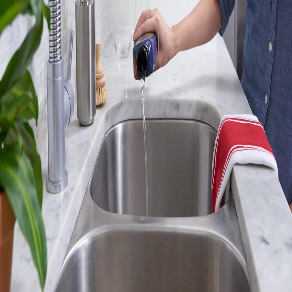 Débloquer un évier de cuisine