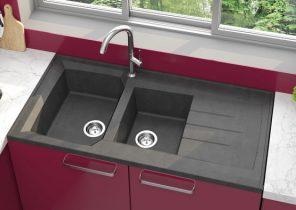 fixation robinet sur evier inox boutique gain de. Black Bedroom Furniture Sets. Home Design Ideas