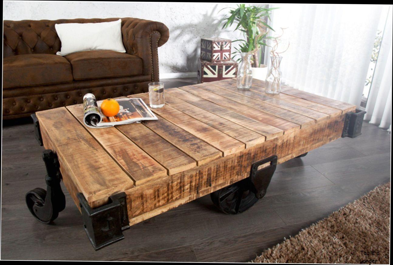 table basse palette avec roue boutique gain de. Black Bedroom Furniture Sets. Home Design Ideas
