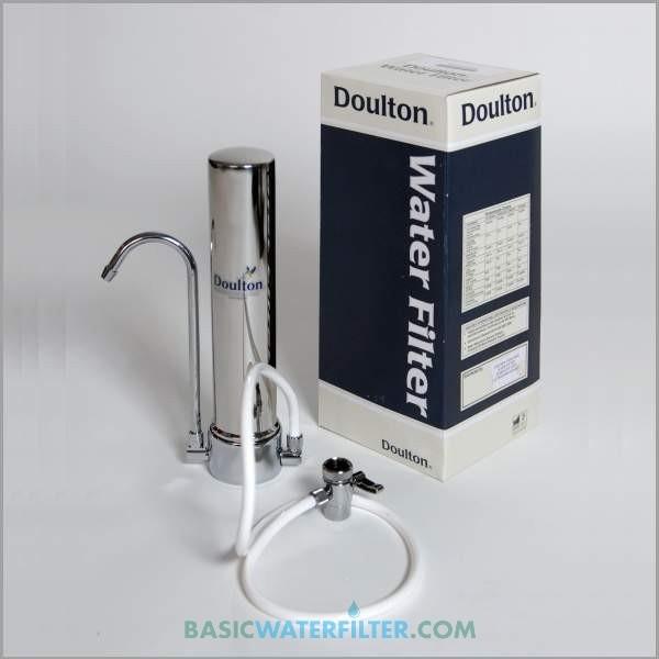 Filtre à eau sur évier hcs inox doulton