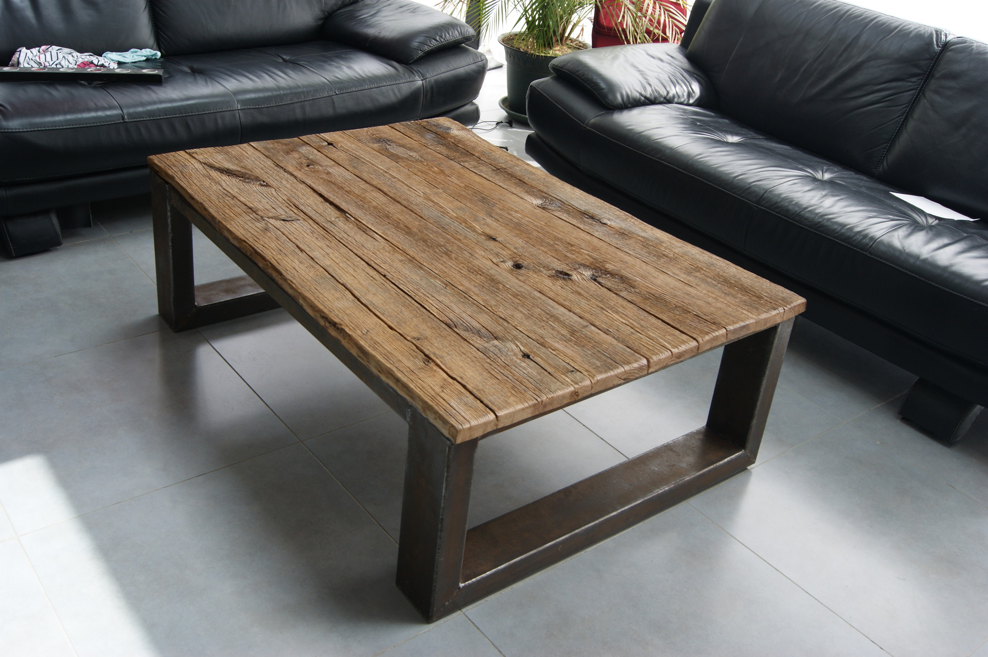 Fabriquer Une Table Basse En Bois.Planche Bois Pour Table Basse Boutique Gain De Place Fr