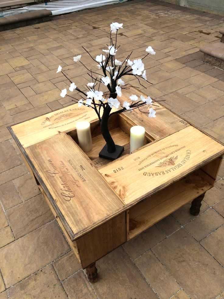 Table Basse Relevable Fait Maison Boutique Gain De Place Fr