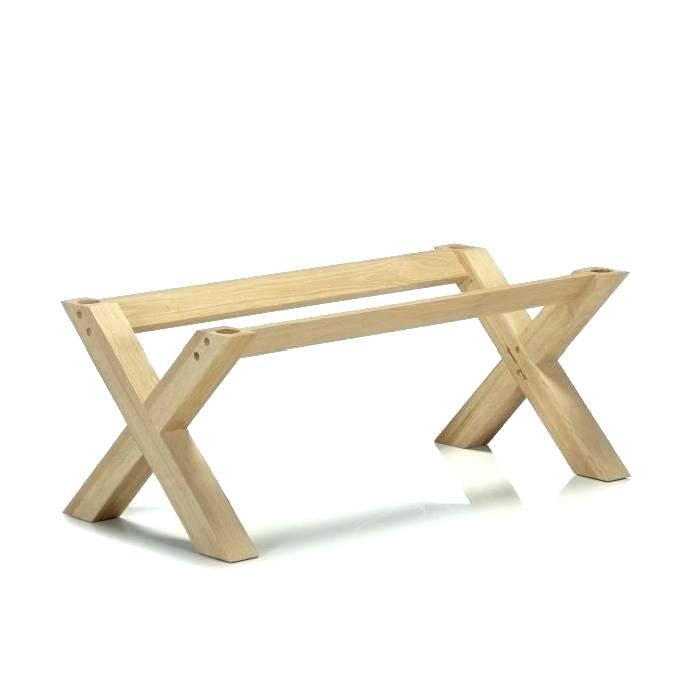 pieds bois pour table basse - boutique-gain-de-place.fr