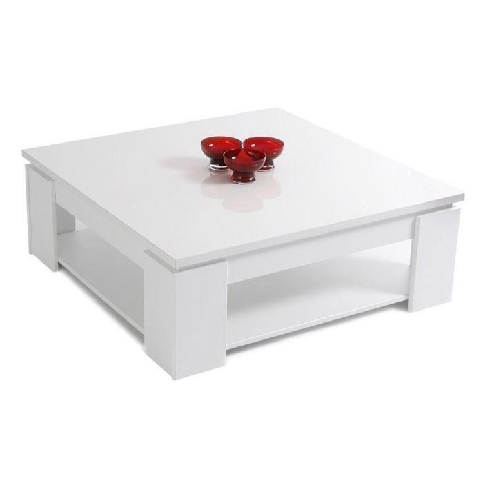 Cdiscount Table Basse Blanche.Table Basse Cdiscount Boutique Gain De Place Fr